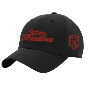 Ball Cap : Black/ Black