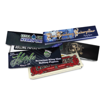 Custom Rolling Papers : 2500 MOQ