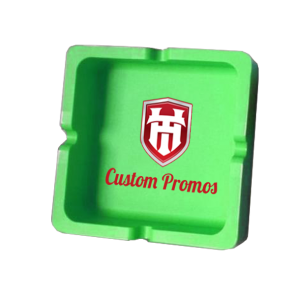 Custom Silicone Ashtrays : Square