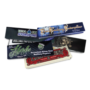 Custom HEMP Rolling Papers : 5000 MOQ
