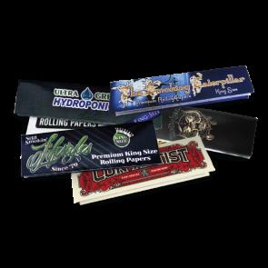 Custom HEMP Rolling Papers : 5000 MOQ