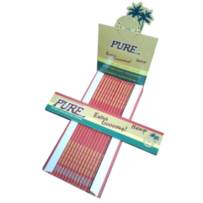 "Ready to Ship : PURE Extra Long 10"" Rolling Papers"