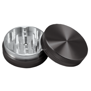 High Grade Aluminum Grinders : 2 Piece : 63mm : Blank
