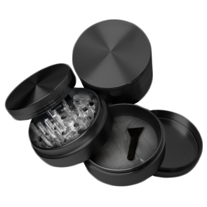 High Grade Aluminum Grinders : 4 Piece : 63mm : Blank