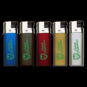 Windproof Metallic Refillable Lighters