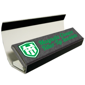 Custom Magnetic Closure Rolling Paper Booklets