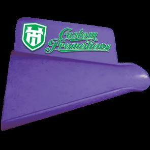 Custom Printed Scoops : Purple