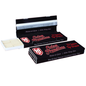 Rolling Papers + Filter Tip Drawer : Slim King : 14gsm