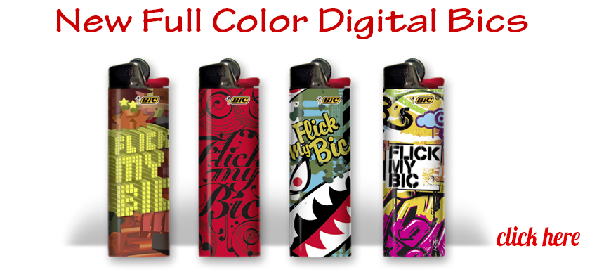 New Custom Bic Lighters